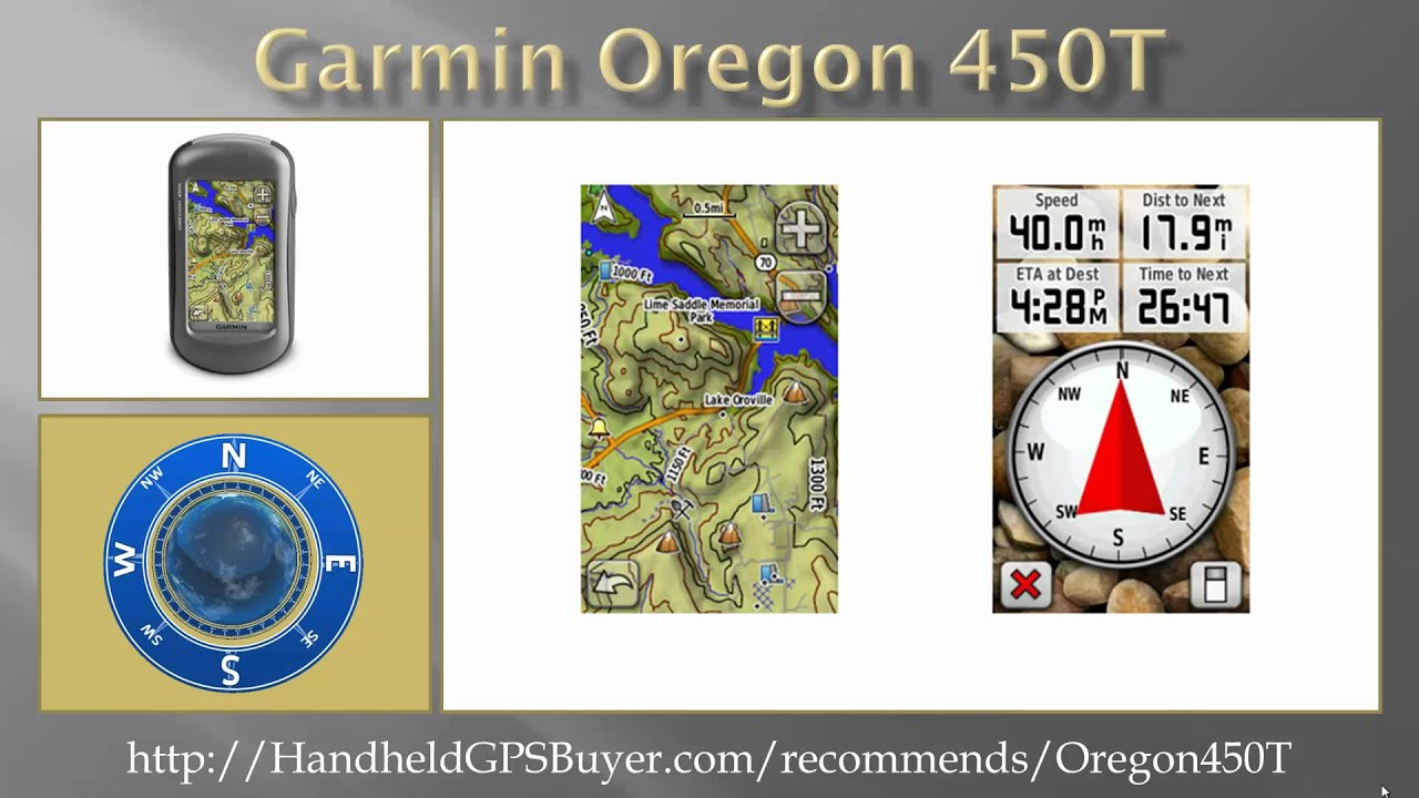 Garmin oregon 450t