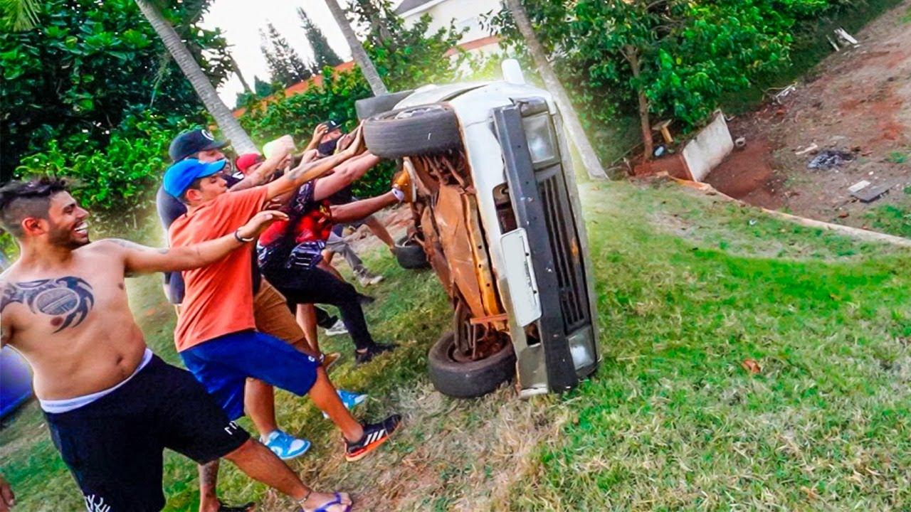 Download CAPOTEI O CARRO DO MEU AMIGO NO QUINTAL DE CASA