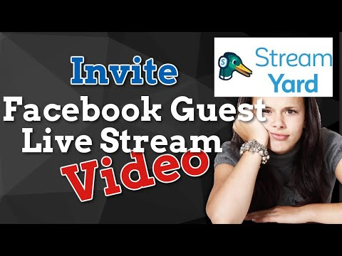 How to Invite Guest in Facebook Live using StreamYard | Filipino Tutorial thumbnail