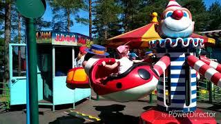 Поездка в парк развлечений Tykkimäki Финляндия.
