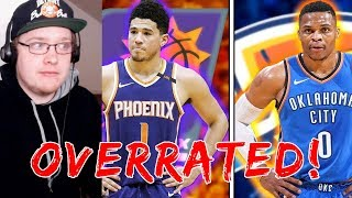 THE MOST OVERRATED PLAYERS IN THE NBA