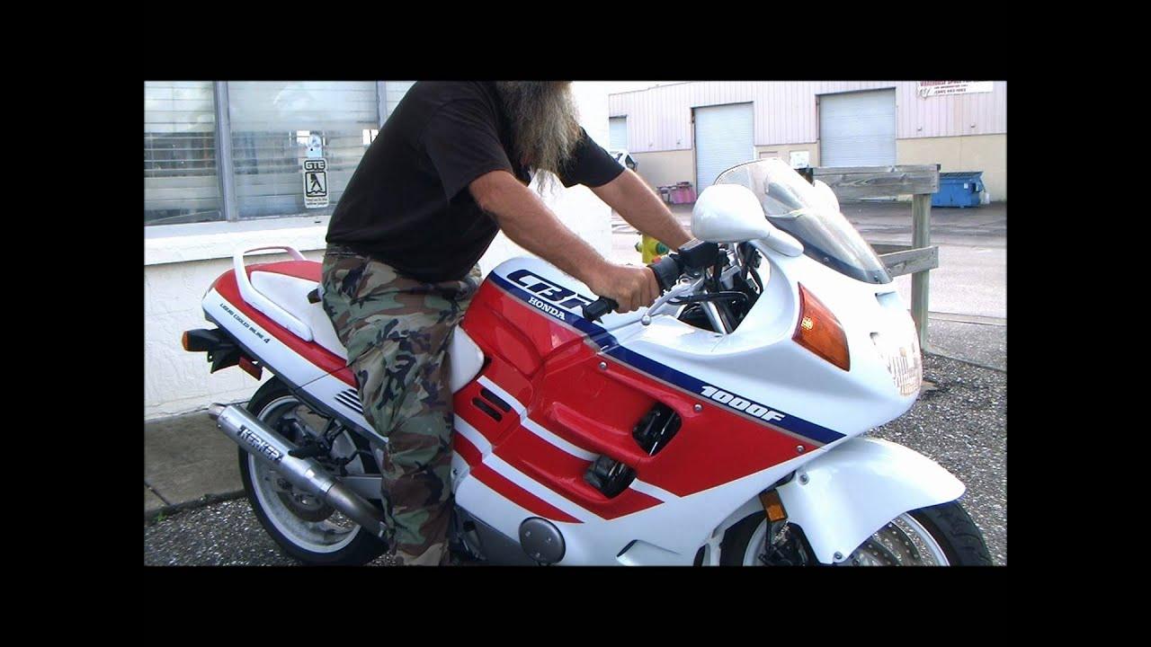 Honda Cbr1000Rr For Sale >> 1990 Honda Hurricane CBR1000F Running - YouTube