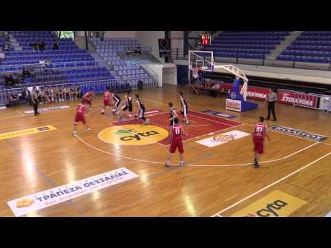 EOK | Video HD : Καστοριά ΑΣ - Πανιώνιος 50-67 (η 4η περίοδος) [by hbf] Τελική φάση 41ου Πανελληνίου Πρωταθλήματος Εφήβων(Τρίκαλα)