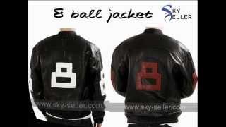 Mens 8 ball Bomber Jacket for Sale