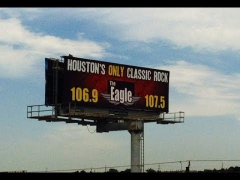 Houston's Eagle 106.9 & 107.5 - Aircheck (2014)