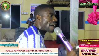 SUPERNATURAL IMPARTATION SERVICE WITH PROPHET JEREMIAH, THEME SHARPEN ANOINTING