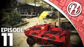[GTA5] GOEDEREN STELEN MET DE NIEUWE TANK!! - Royalistiq | GTA V Freeroam #11 (Gunrunning DLC)