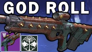 Destiny 2: Claws of the Wolf GOD ROLL Review! - New Iron Banner Pulse Rifle | Forsaken