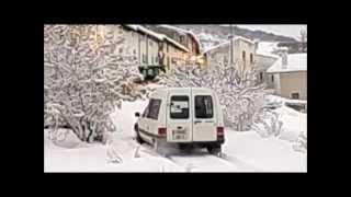 citroen c15 en la nieve