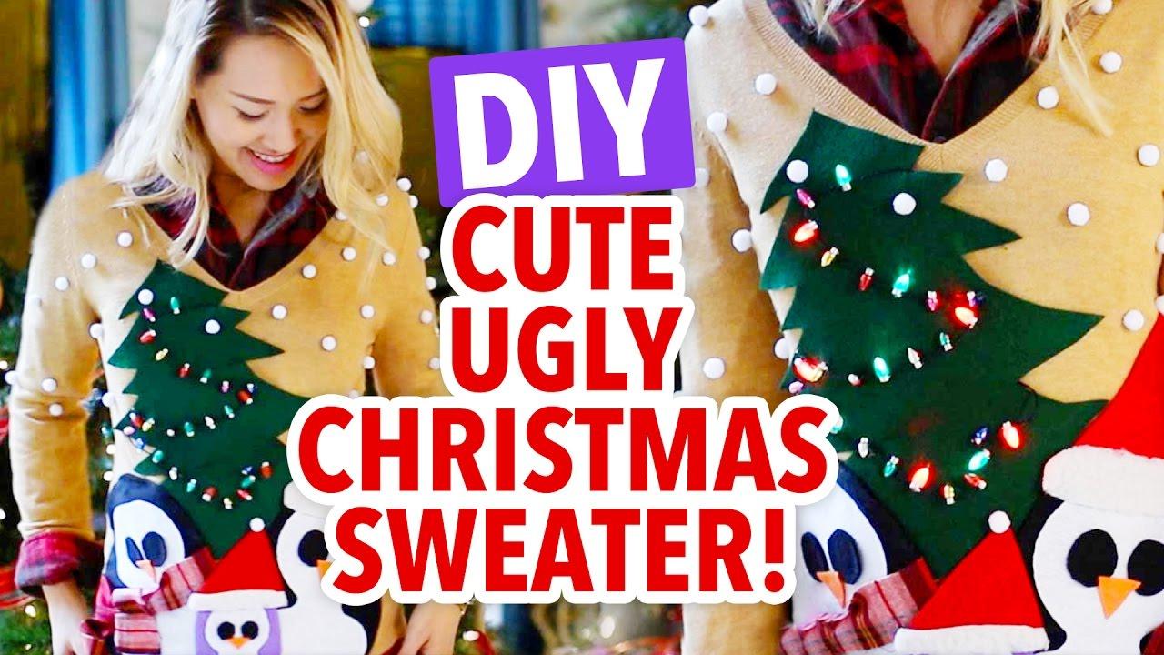Ugliest Christmas Sweater.Ann S Ugly Christmas Sweater Challenge Hgtv Handmade