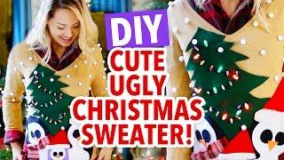 Ann s Ugly Christmas Sweater Challenge - HGTV Handmade