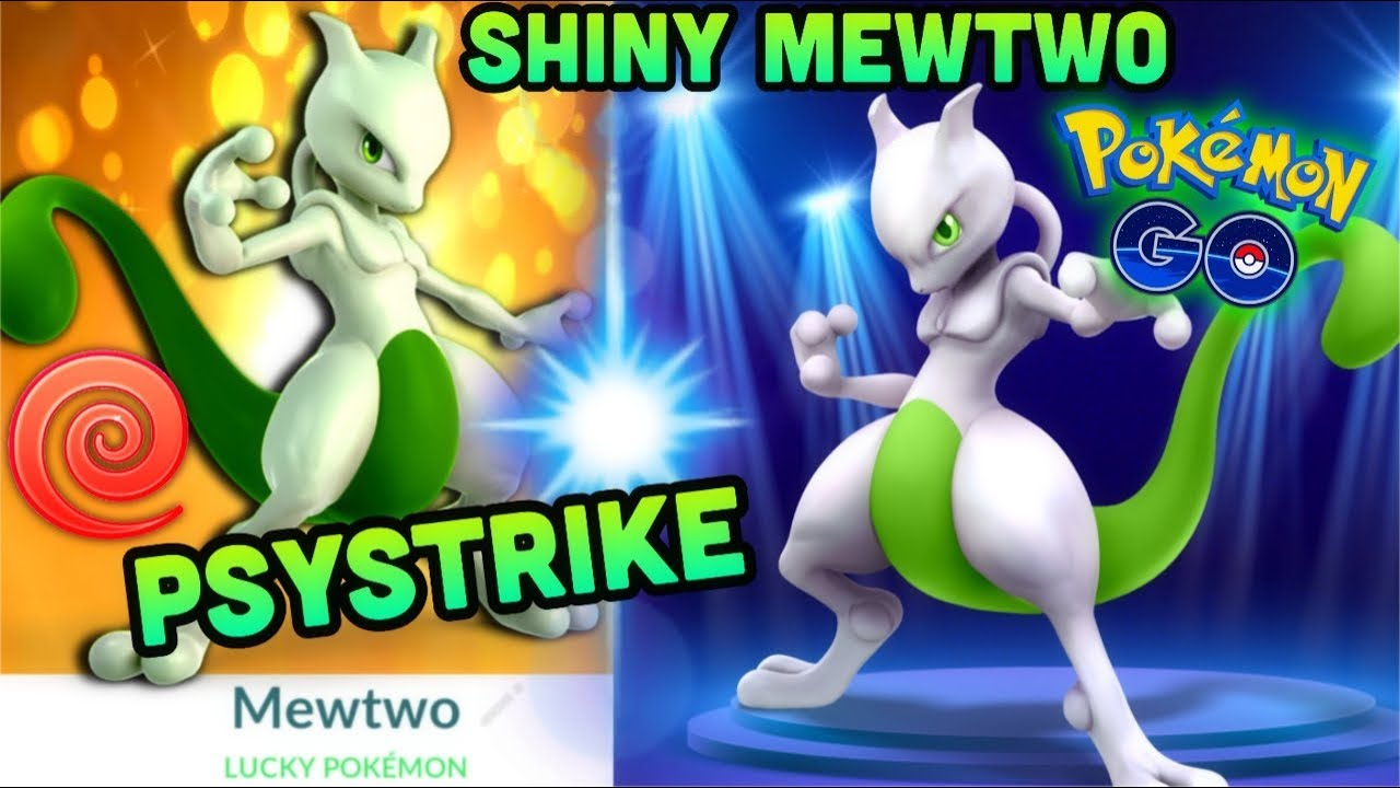 Shiny Psystrike Mewtwo Stats In Pokemon Go Should You Power It Up