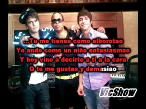 Karaoke Gustavo y Rein ft Ilegales - Tu Me Tienes DEMO!!