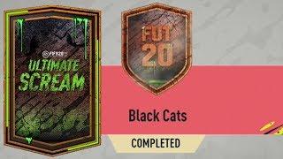 FIFA 20 BLACK CATS SBC CHEAPEST WAY! FIFA 20 ULTIMATYE SCREAM BLACK CATS SBC CHEAP SOLUTION
