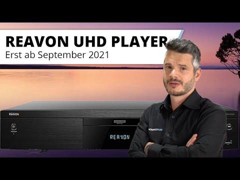 Update zum REAVON High-End 4K UHD Blu-Ray Player - Leider Lieferverzögerung!