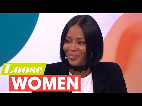 Naomi Campbell Shares Why She Cares So Passionately About Fashion for Relief | Loose Women
