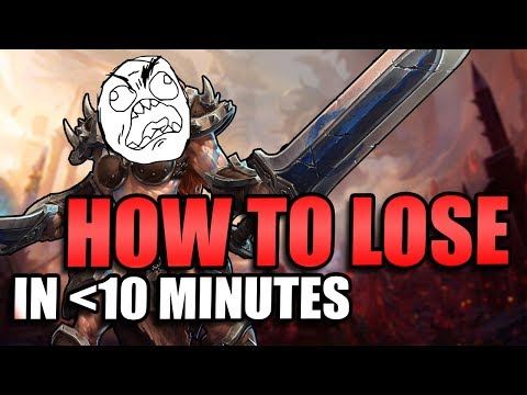 How to Lose (and Win!) in less than 10 minutes // Heroes of