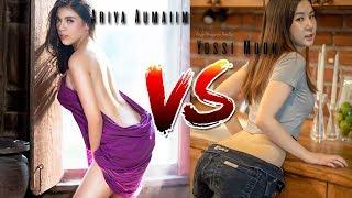 Hot Sexy Angel Yossi Mook vs Ariya Aumaiim Thailand 18+