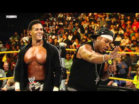 WWE NXT: The Usos challenge Darren Young & JTG to a match