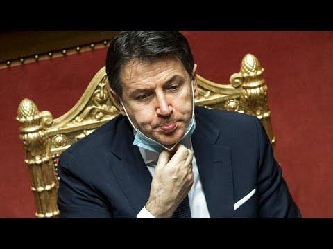 رئيس الوزراء الإيطالي يقدم استقالته الثلاثاء سعيا إلى تكوين أغلبية جديدة في البرلمان…  - نشر قبل 3 ساعة