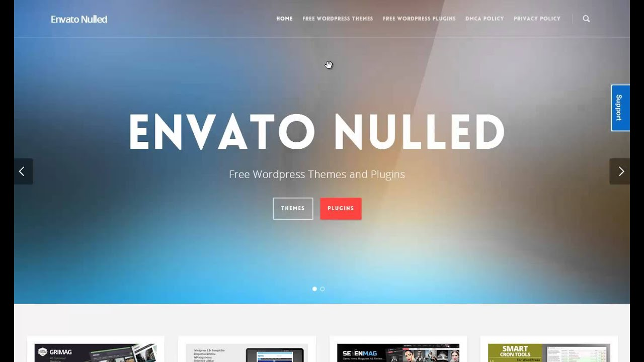 Envato Nulled | Nulled Wordpress Themes and Plugins