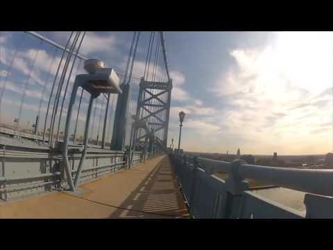 Ben Franklin Bridge 2016 - Philadelphia - Exciting World Travels