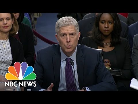 SCOTUS Nominee Neil Gorsuch Asked Whether Roe v. Wade Was Decided Correctly | NBC News