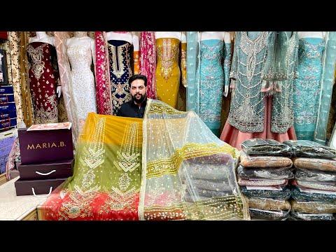 #New Arrival Pakistani Hit Brands King 👑 Replica - Bridal Maxi - Handwork Suit - Excellent Quality