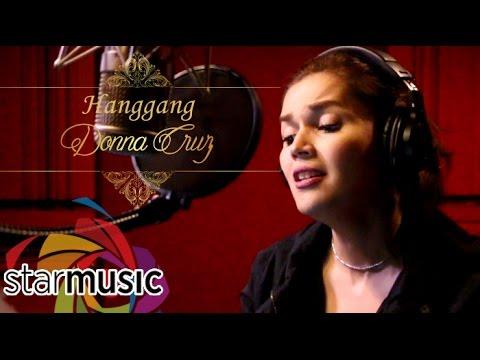 Donna Cruz  Hanggang Recording Session