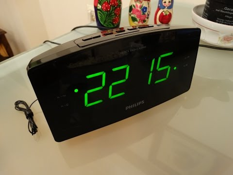 Philips Clock Radio AJ3400 12 introduction