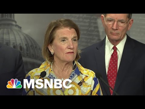Sen. Capito Unveils Republican Proposal To Fund Infrastructure   MSNBC