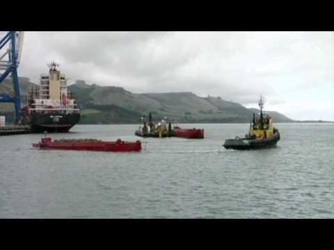 Maasdam berths at Port Chalmers