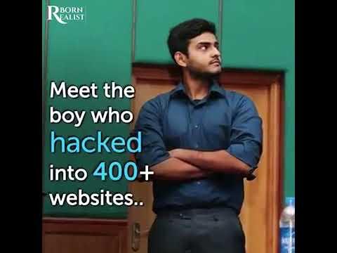 **Born Realist** Meet The PAKISTANI HACKER | Shahmeer Amir |--:Who HACKED 400 Companies:--