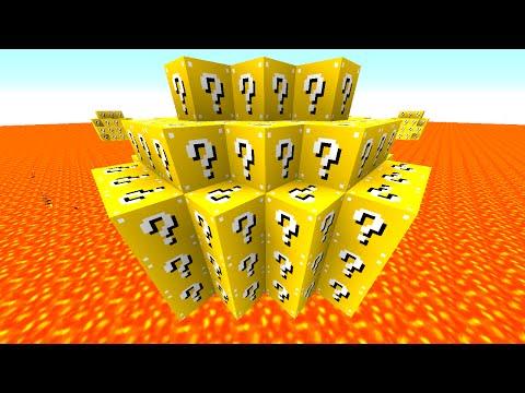 Minecraft LUCKY BLOCK LAVA WARRIORS! with Preston & Friends! (Minecraft Mods)
