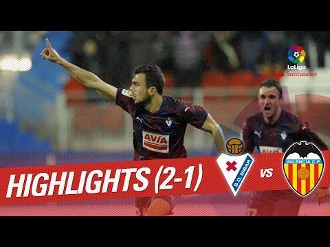 Resumen de SD Eibar vs Valencia CF (2-1)