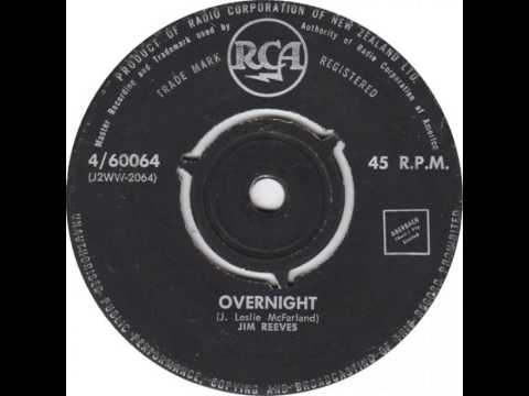Jim Reeves ~ Overnight