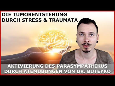 TUMORENTSTEHUNG durch STRESS / TRAUMATA genauer erklärt - Parasympathikus, Atemübungen, Buteyko