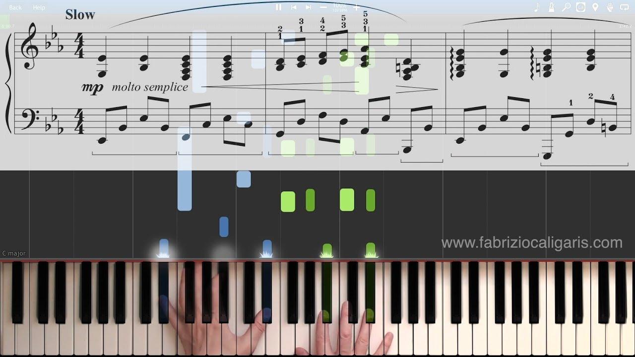 The Man I Love - Piano Cover - Tutorial - PDF - Midi