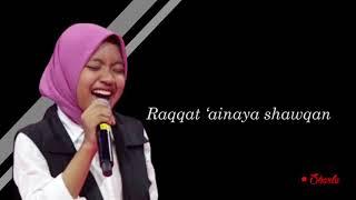 WOW Sharla the voice nyanyi qosidah bikin ADEM  - Roqqota aina Lirik Mp3