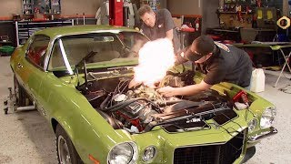 Download Firing Up a 396 Big Block in a 1970 Camaro RS/SS - MuscleCar S6, E12 Mp3 and Videos