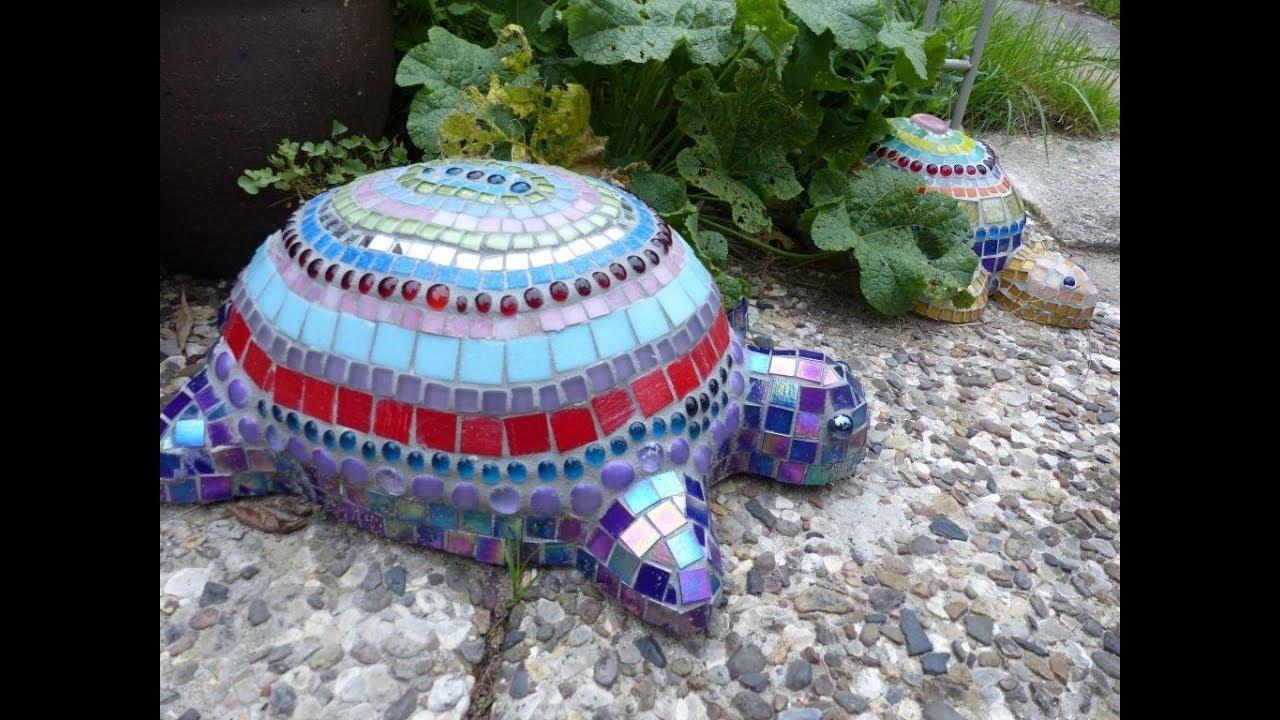 alice art beton schildkr te f r mosaik concrete turtle for mosaik youtube