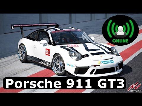 assetto corsa porsche 911 gt3 cup 2017 multiplayer hd youtube. Black Bedroom Furniture Sets. Home Design Ideas