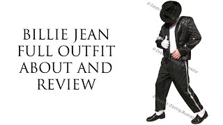Michael Jackson Billie Jean Full Costume Review and About