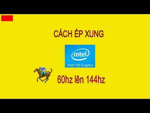 Cách ép xung card màn hình bằng ( CRU )  SD NAM 