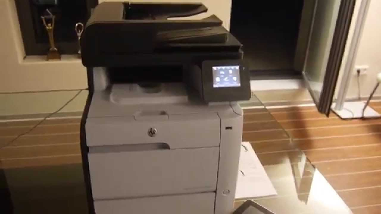 Hp Color Laserjet M476 Hands On Doovi