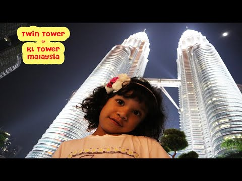 Serunya Foto di depan Twin Tower Malaysia | Take a Picture infront of Twin Tower Malaysia
