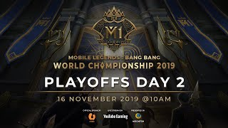 Live now: MLBB World Championship 2019 Day 6 Playoffs 2(PH)
