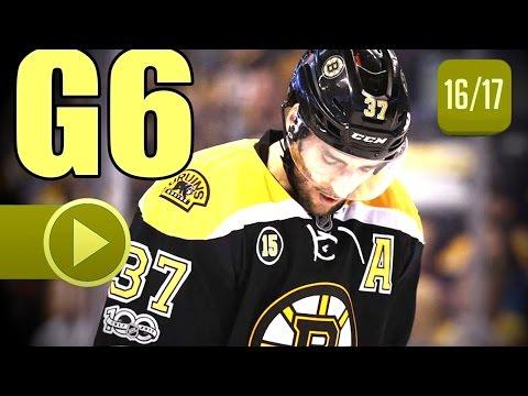 Ottawa Senators vs Boston Bruins. 2017 NHL Playoffs. Round 1. Game 6. April 23rd, 2017. (HD)