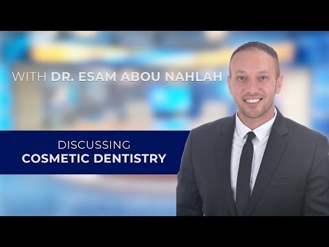 Cosmetic Dentistry with Tysons Corner, VA Prosthodontist Esam Abou Nahlah, DDS, MS