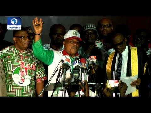 PDP Convention: Swearing In Of New National Leaders